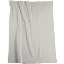 Biederlack Wohndecke Cotton Pure grau 150x200 cm