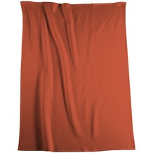 Biederlack Wohndecke   Cotton Pure orange 150x200 cm