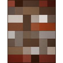 Biederlack Wohndecke Velourband-Einfassung Blocking 150 x 200 cm