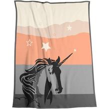 Biederlack Wohndecke Young & Fancy Last Unicorn 150 x 200 cm