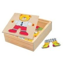 Bino 88047 - Ankleidepuzzle: Bär