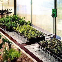 Bio Green Aluminium-Heizmatte inkl. Thermostat, 0,40 x 1,20 m