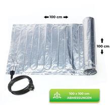 Bio Green Aluminium-Heizmatte inkl. Thermostat, 1,00 x 1,00 m