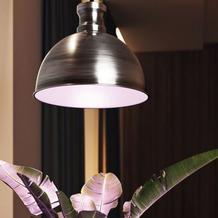 Bio Green LED Pflanzenleuchte Florabooster 500 inkl. LED-Leuchtmittel 6,5 W - Zink