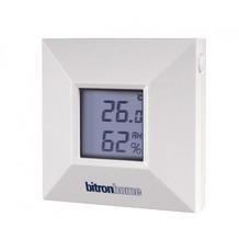 Bitronvideo Temp.- und Luftfeuchtigkeitssensor innen/außen
