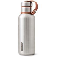 black+blum Isolierflasche 500ml Edelstahl Orange Maße: 7,3 x 7,3 x 23,3 cm Isolierte Wasserflasche