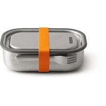 black+blum Lunch-Box groß 1000ml Edelstahl Orange Brotdose
