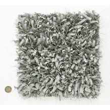 Kaiya Hochflor-Teppich Blanche 23 grau Wunschmaß