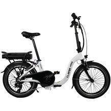 Blaupunkt Falt-E-Bike Clara 400 Schwarz/Weiß
