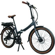 Blaupunkt Falt-E-Bike Franzi 500 Lava Grau matt