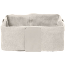 blomus Desa Brotkorb L, beige/moonbeam