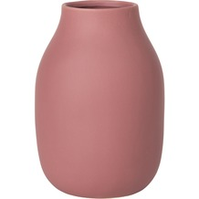 blomus Colora Vase, pink/withered rose
