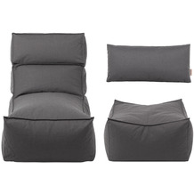 blomus Liegeset -STAY- In und Outdoor coal Dark Grey
