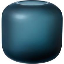 blomus OVALO Vase blue ø 17 cm
