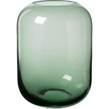 blomus Ovalo Vase, grün/green ø 15,5 cm