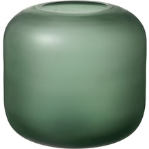 blomus Ovalo Vase, grün/green ø 17 cm