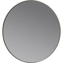 blomus Rim Wandspiegel, grau/steel grey Ø 80 cm