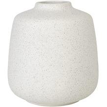 blomus Rudea Vase, weiß/lily white, 12 cm hoch