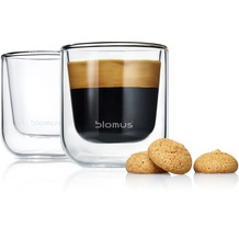 blomus Nero Set 2 Espresso-Gläser