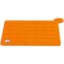blomus LAP Untersetzer / Topflappen orange Display 68756