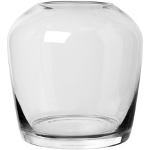 blomus Leta Vase Clear medium Ø 13 cm