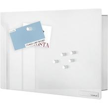 blomus VELIO Schlüsselkasten / Glasmagnettafel weiß klein