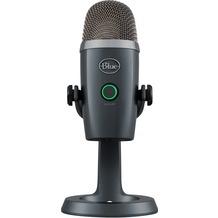Blue Microphones Yeti Nano - Premium USB-Mikrofon, grey