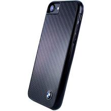 BMW Carbon Fiber Hardcover, Apple iPhone 7 und 8, Schwarz