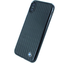 BMW Carbon Hardcover, Apple iPhone X, Schwarz