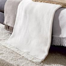 Biederlack Sesselschoner Cotton Cover natur 50x200 cm