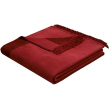 Biederlack Wohndecke Orion Cotton Plus rosso 150x200 cm