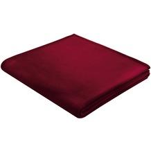 Biederlack Wohndecke Orion Cotton rosso 150x200 cm