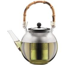 Bodum ASSAM Teebereiter mit Edelstahlfilter und Bambus Henkel, 1.5 l bambus