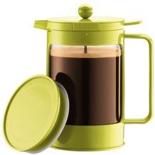 Bodum BEAN SET Eiskaffeebereiter für kalt aufgegossenen Kaffee, 1.5 l, 12 Tassen limettengrün