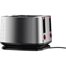 Bodum BISTRO 4-Scheiben-Toaster, Edelstahl, matt, 1600 W matt