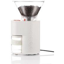 Bodum BISTRO Elektrische Kaffeemühle mit Kegelmahlwerk, 160 W cremefarben