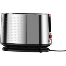 Bodum BISTRO Elektrischer Toaster, 800 W, Edelstahl verchromt