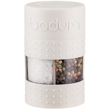 Bodum BISTRO Salz- und Pfeffermühle cremefarben
