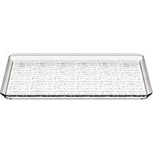 Bodum BISTRO Serviertablett, Kunststoff, 27 cm x 42 cm transparent