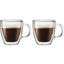 Bodum BISTRO Tasse doppelwandig 0.3L - 2er Set