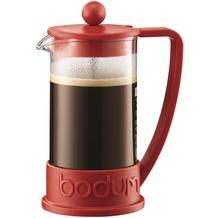 Bodum BRAZIL Kaffeebereiter 0,35 l 3 Tassen rot