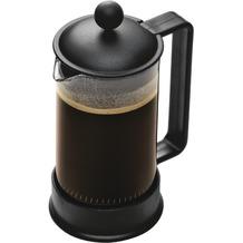 Bodum BRAZIL Kaffeebereiter 0,35 l 3 Tassen schwarz, eckiger Griff