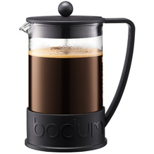 Bodum BRAZIL Kaffeebereiter, 12 Tassen, 1,5 l, in TRITAN schwarz