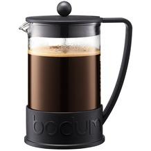 Bodum BRAZIL Kaffeebereiter, 12 Tassen, 1.5 l mit Bechergefäss aus PC schwarz