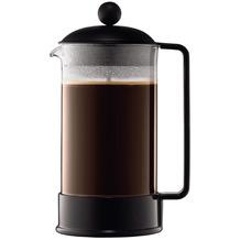 Bodum BRAZIL Kaffeebereiter, 8 Tassen, 1,0 l, aus kunststoff schwarz
