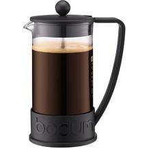 Bodum BRAZIL Kaffeebereiter, 8 Tassen, 1.0 l mit Bechergefäss aus PC schwarz