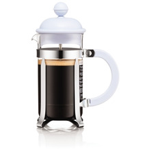 Bodum CAFFETTIERA Kaffeebereiter, 3 Tassen, 0,35 l, aus kunststoff blue moon