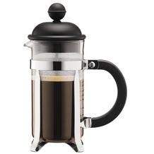 Bodum CAFFETTIERA Kaffeebereiter, 3 Tassen, 0,35 l, aus kunststoff schwarz