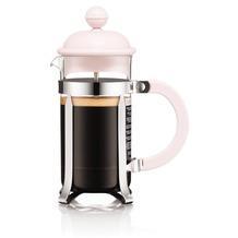 Bodum CAFFETTIERA Kaffeebereiter, 3 Tassen, 0,35 l, aus kunststoff strawberry