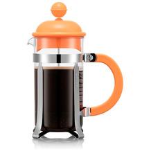 Bodum CAFFETTIERA Kaffeebereiter, 3 Tassen, 0,35l, orange